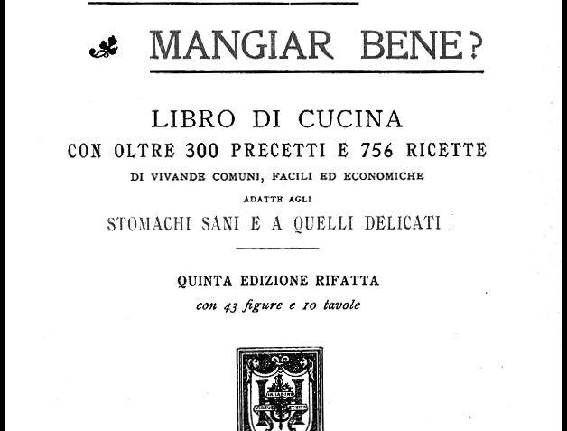 Giulia Ferraris Tamburini, Come posso mangiar bene, 1921
